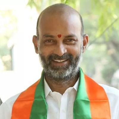 Will  K Chandrashekhar Rao give citizenship to those behind planting explosives, asks BJP MP Bandi Sanjay