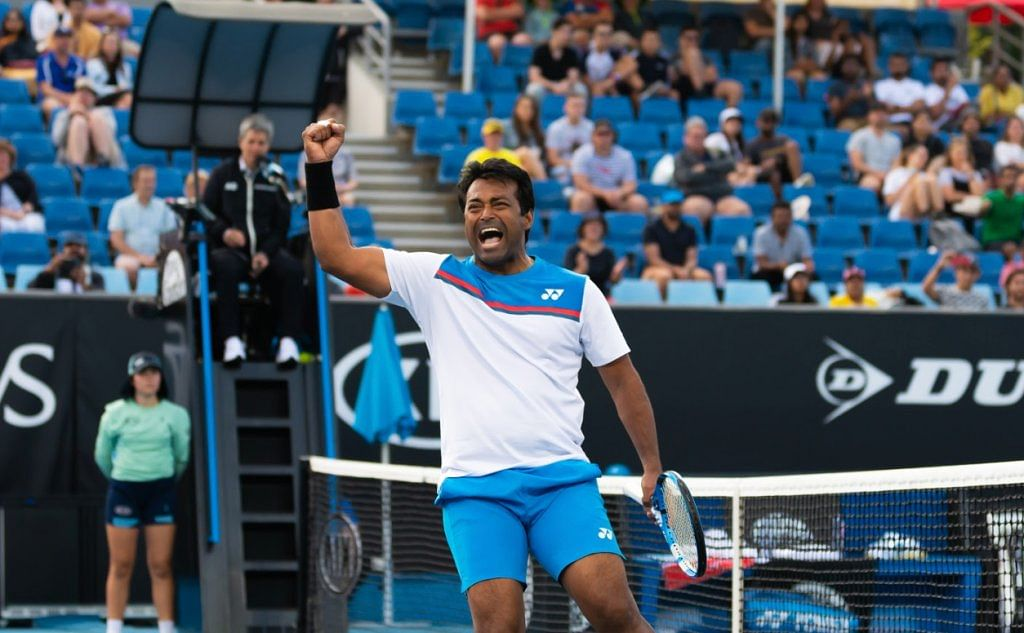 Australian Open: Leander Paes knocked out in second round