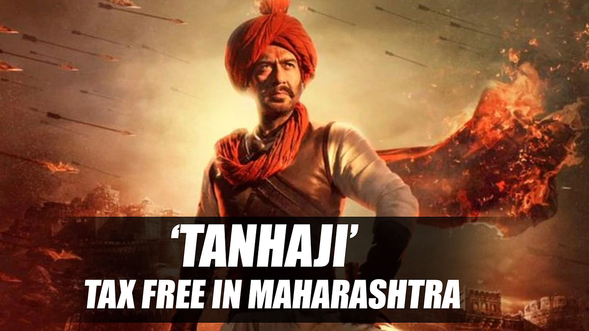 Maharashtra government declares 'Tanhaji' tax free
