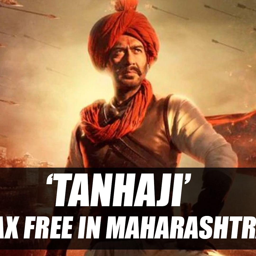 Maharashtra government declares 'Tanhaji' tax free