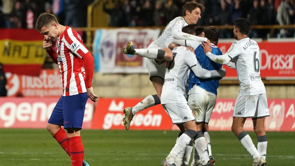 Copa del Ray: Atletico Madrid suffer shocking extra-time defeat to third-tier Leonesa