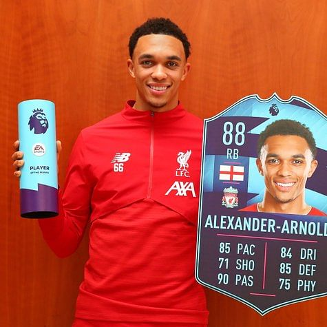 Premier League: Trent Alexander-Arnold wins Player of the Month award for December 2019
