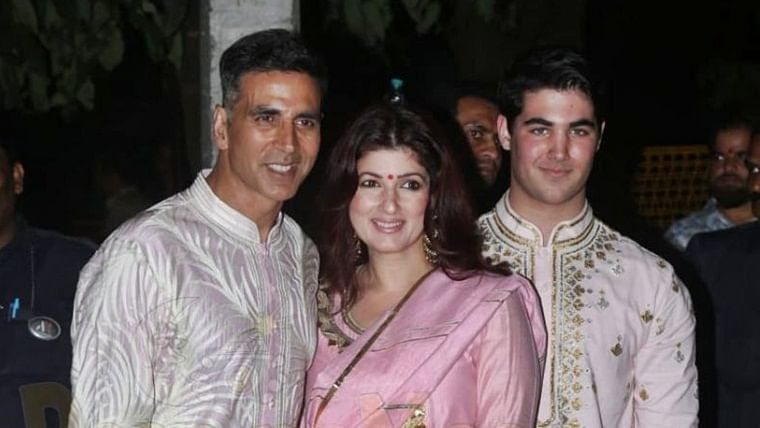 Aarav Bhatia shares Twinkle Khanna's pic, says his mom 'has allegedly been possessed by a demon' - check out her reply