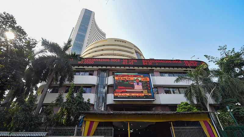 Sensex, Nifty start on weak note amid sustained FII outflow