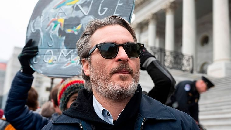 Joker in real life too: Joaquin Phoenix arrested at climate change protest