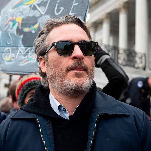 'Joker' star arrested at climate protest in Washington