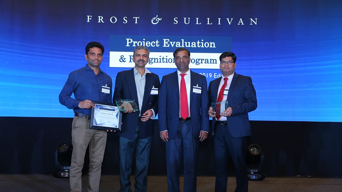 BPCL Corporate (R&D) sweeps Frost & Sullivan awards