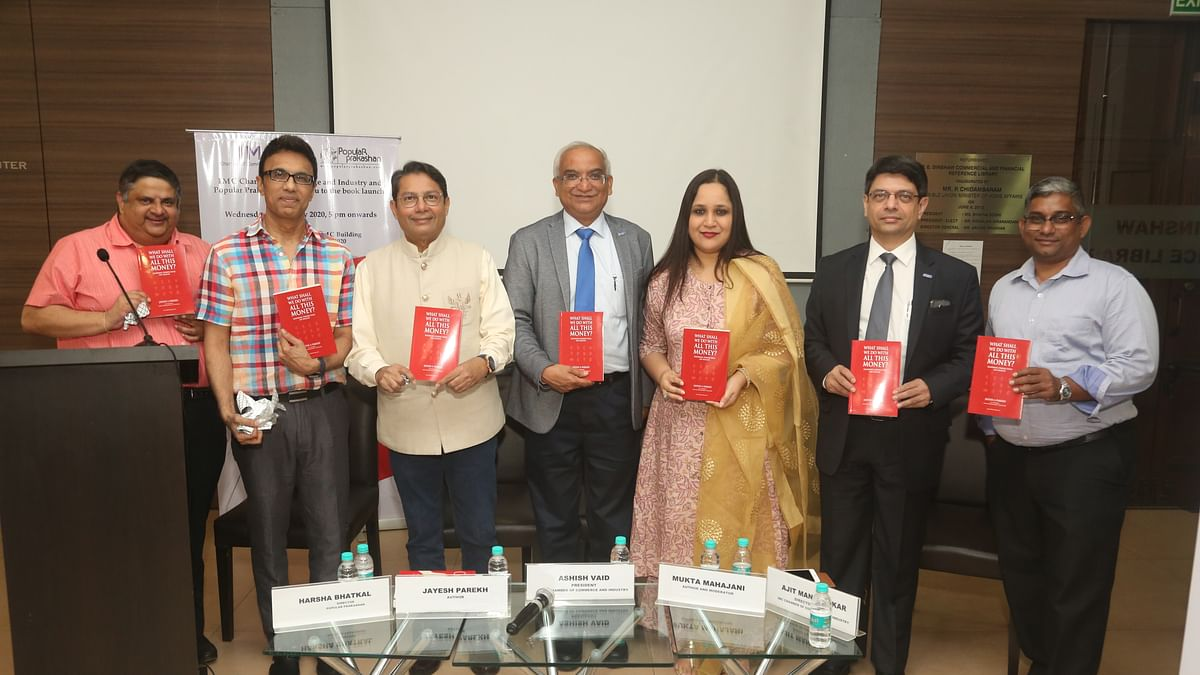 "IMC organises book launch and panel discussion on ""What shall we do with all this money? : inspiring perspectives on wealth"