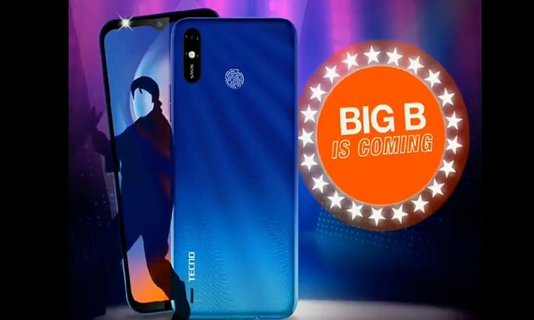 TECNO set to launch 'Big B' of budget smartphones in India