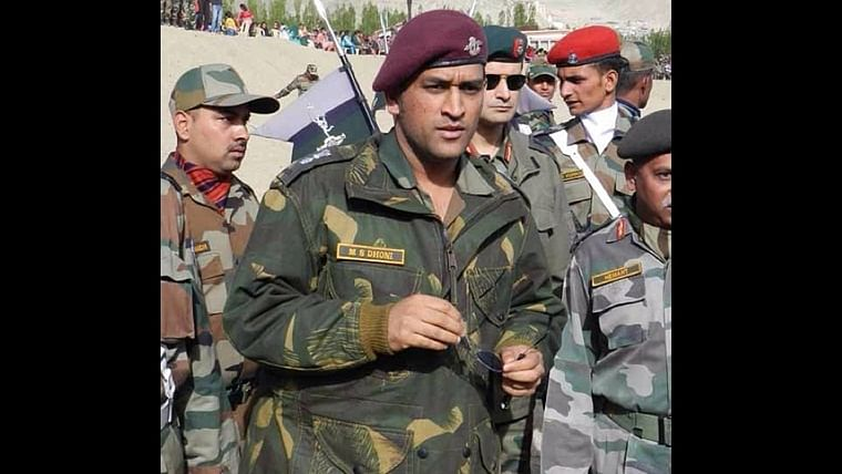 Mahendra Singh Dhoni became a Honorary Lieutenant Colonel in the Parachute Regiment of the Territorial Army in 2011.