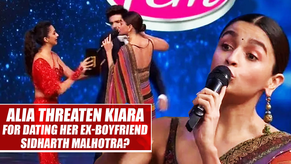 Did Alia Bhatt threaten Kiara Advani for dating her ex-boyfriend Sidharth Malhotra?