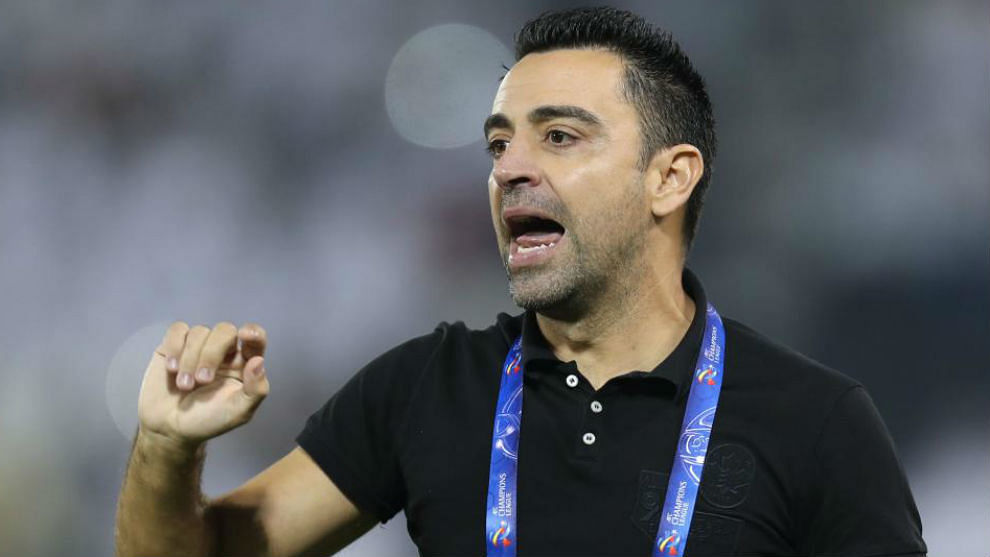 AL-Sadd head coach Xavi Hernández