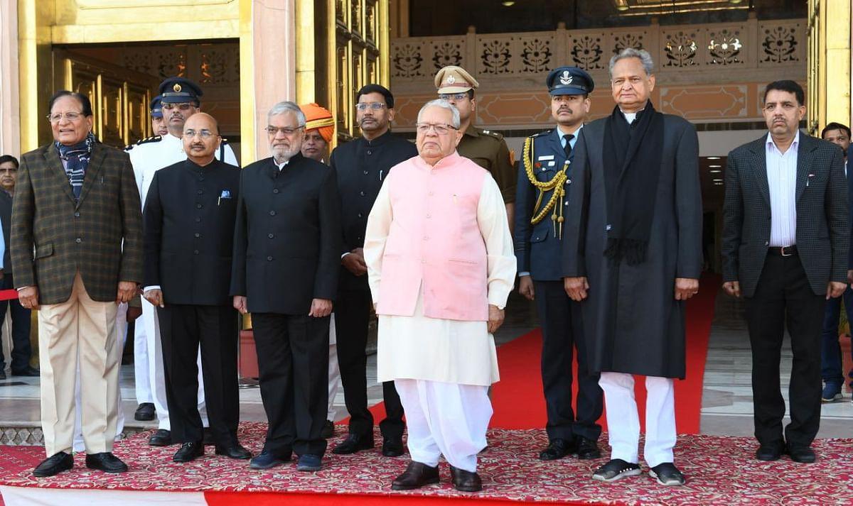 Rajasthan: BJP boycotts Governor Kalraj Mishra's address on the first day of Budget session