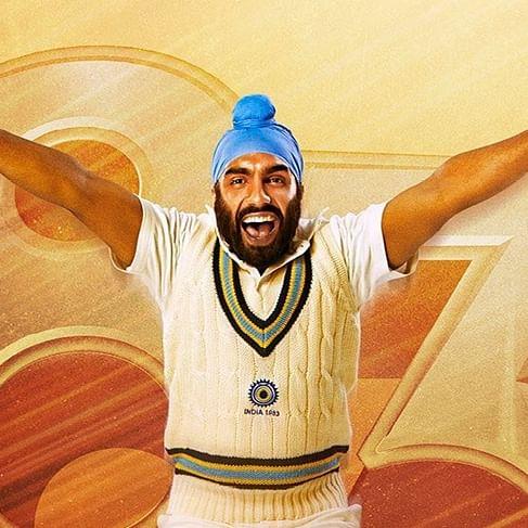 '83: Ranveer Singh unveils character poster of Ammy Virk as Balwinder Singh Sandhu
