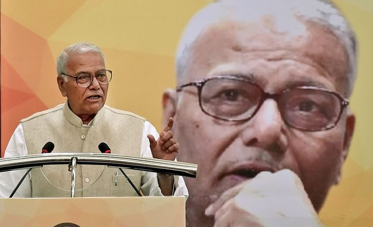 'India's constitution and democracy is in danger, won't let country to be divided': Yashwant Sinha