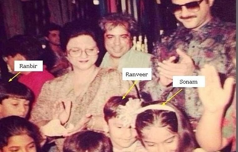 Rangoli shares Ranveer Singh, Sonam Kapoor's childhood picture and challenges his 'outsider' status