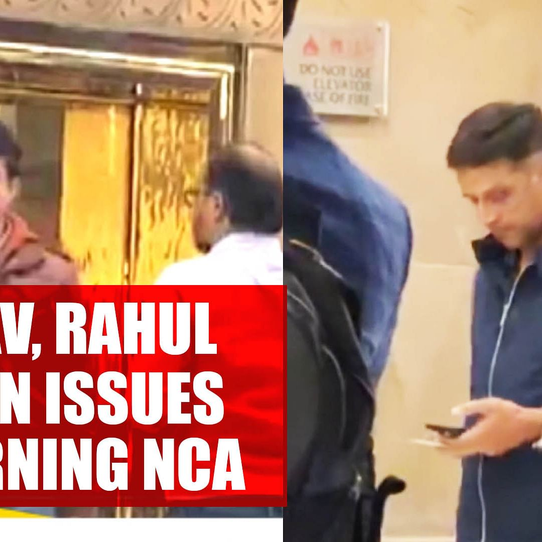 Sourav Ganguly, Rahul Dravid meet on issues concerning NCA