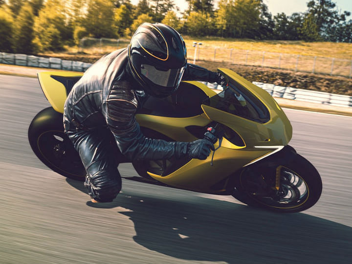 This Electric Superbike can adjust its ergonomics on the fly!