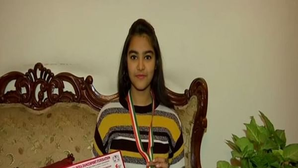 Haryana: Class 10 girl Sahira Jain bags gold in National Dance Sport Championship