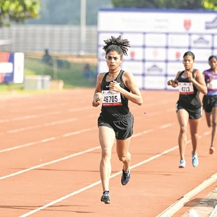 National Athletics Championships 2019-20: Punjab's Harmilan Bains sets a new meet record