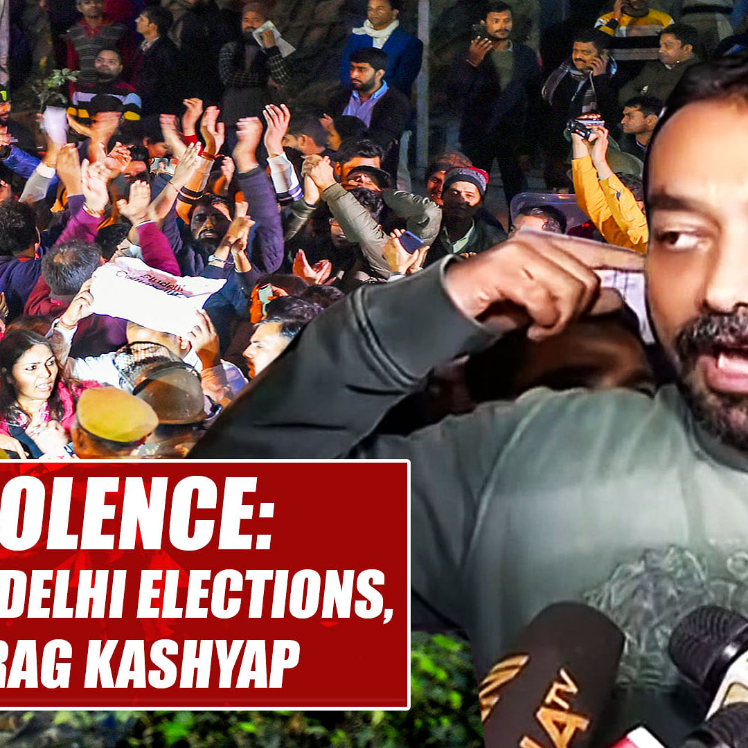 JNU violence: Such incidents happening due to upcoming Delhi elections, says Anurag Kashyap