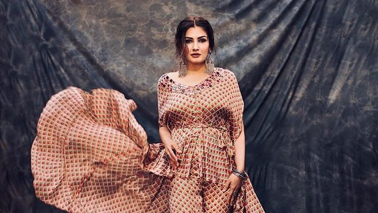 I'm a very lazy person and go to the gym when I feel like it: Raveena Tandon