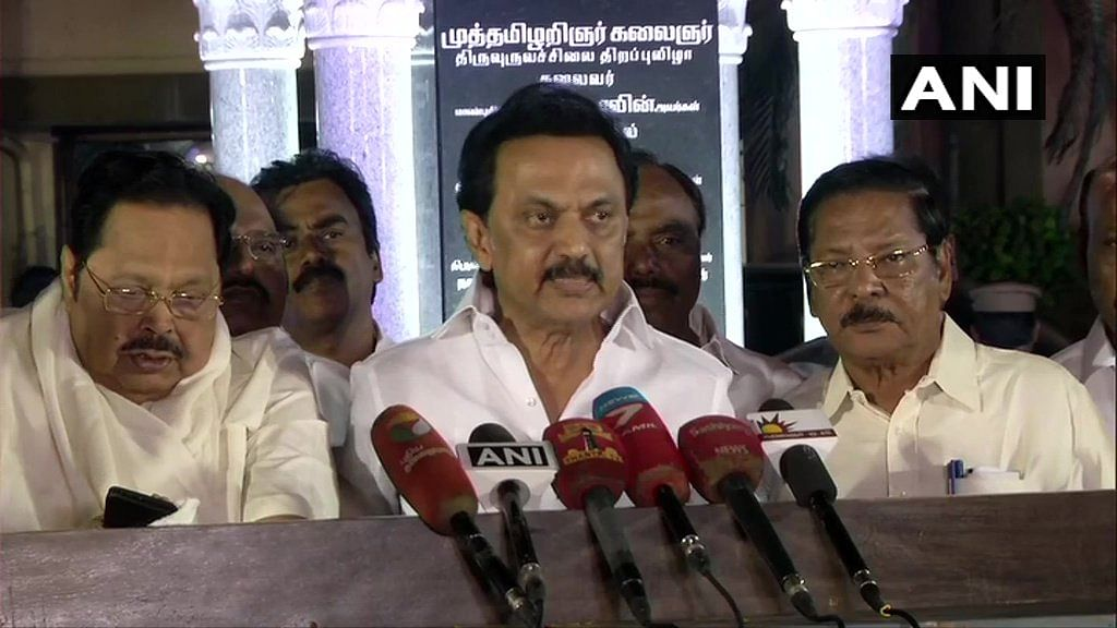 Stalin congratulates Nitish Kumar for victory, Tejashwi for leadership in Bihar polls