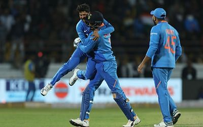 Ind vs Aus 2nd ODI: Kuldeep Yadav breaks Harbhajan Singh's long-standing record