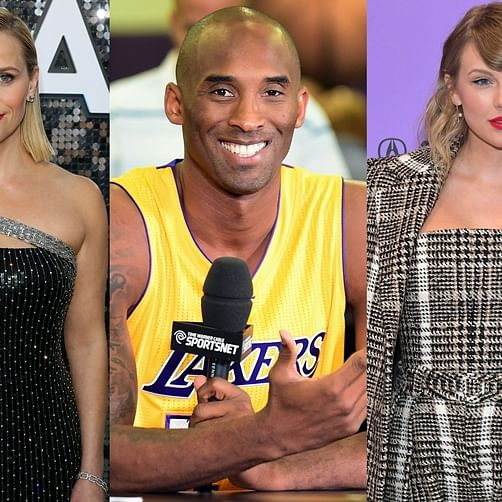 Taylor, Reese, Ellen and other celebs mourn the loss of NBA star Kobe Bryant and his daughter Gianna