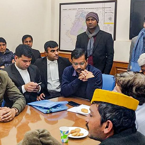 AAP sees BJP plot to prevent Arvind Kejriwal from filing nomination on last day