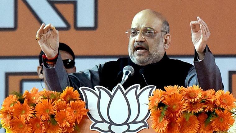 Rahul, Priyanka Gandhi misleading minorities; Congress, AAP responsible for riots: Amit Shah
