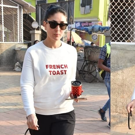 Kareena Kapoor's designer 'French Toast' sweatshirt isn't that expensive