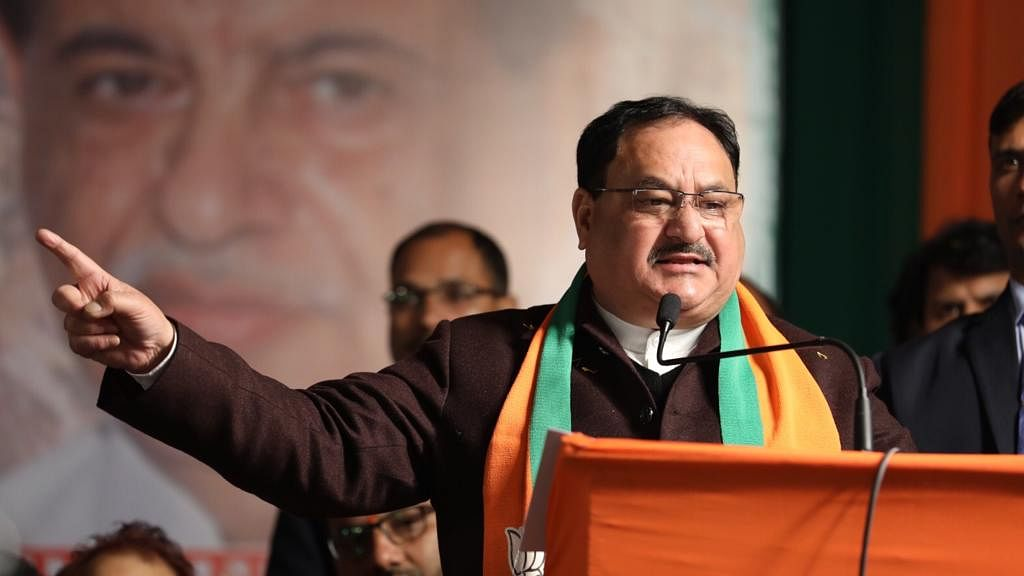AAP, Congress bothered about being with Shaheen Bagh not country: JP Nadda