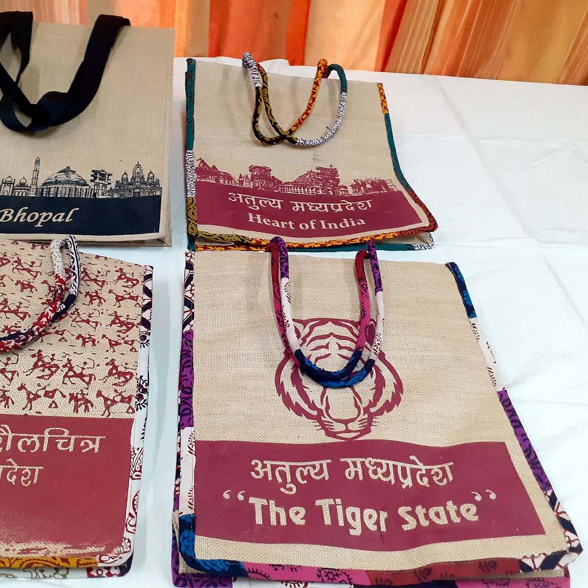 Bhopal: Jute, leather bags to promote MP Tourism