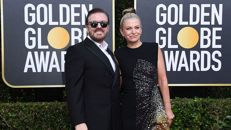 Hollywood stars stunned after Ricky Gervais' savage monologue, Twitter hails comedian