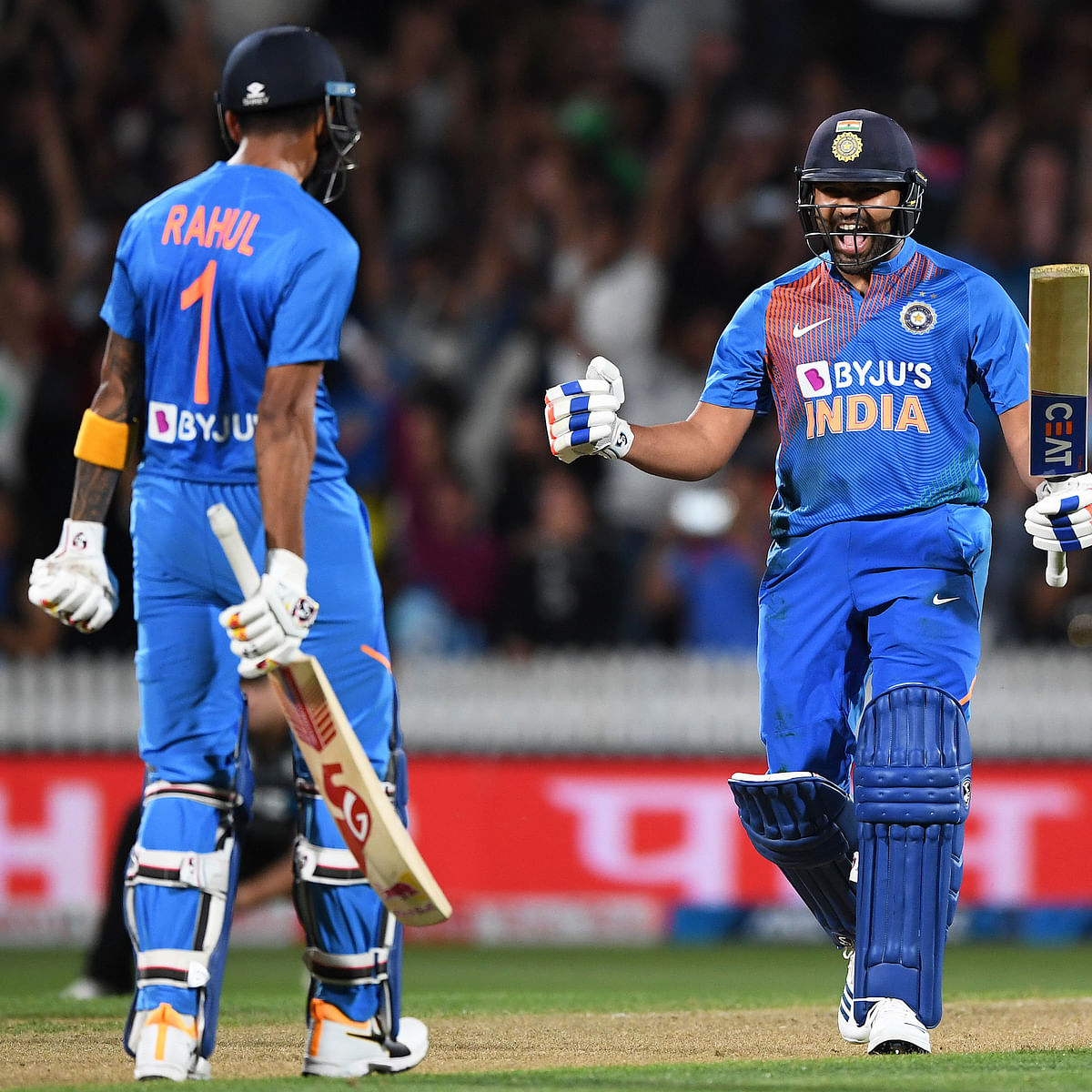 NZ vs IND 3rd T20I: Rohit Sharma slams 2 sixes in thrilling super over to seal series