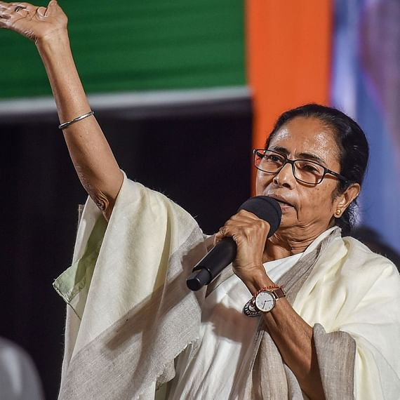 West Bengal CM Mamata Banerjee leads anti-CAA march in Darjeeling