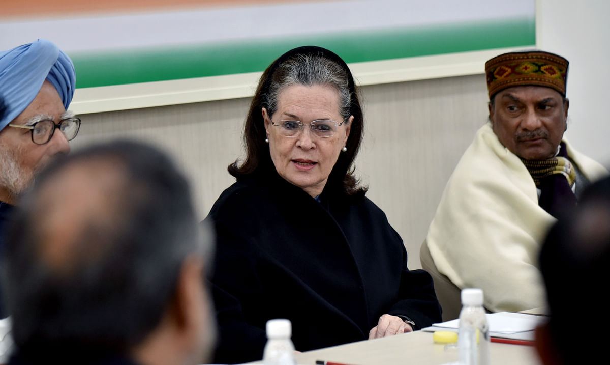 'NPR 2020 is a disguised NRC': Sonia Gandhi hits out at Modi govt at CWC meet