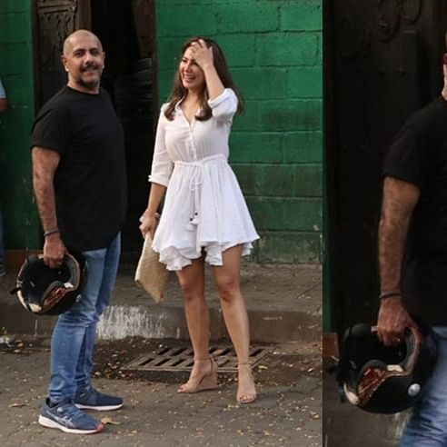 Vishal Dadlani, Kim Sharma's PDA sparks dating rumours