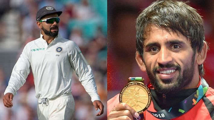 Sports award: Indian Test cricket team, Wrestler Bajrang Punia on top
