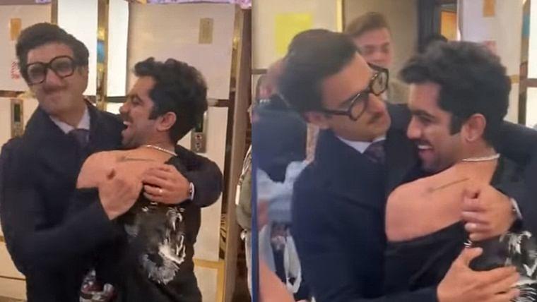 Watch: Ranveer Singh's reaction to a fan's 'Ranveerian' tattoo is winning hearts