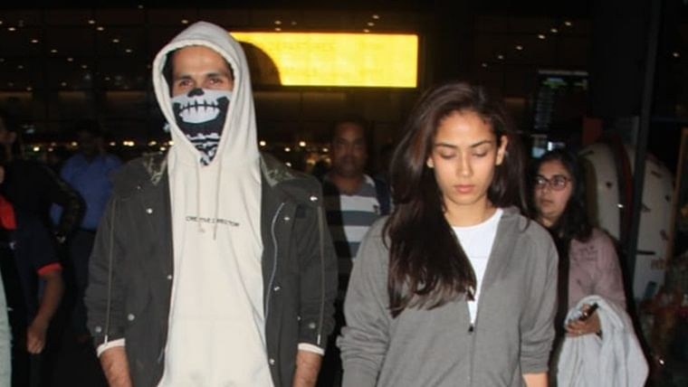 Shahid Kapoor hides his face after getting 13 stitches while shooting for 'Jersey'; see pics