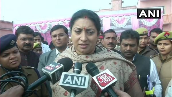 Students shouldn't be used as political pawns, Smriti Irani reacts on JNU violence
