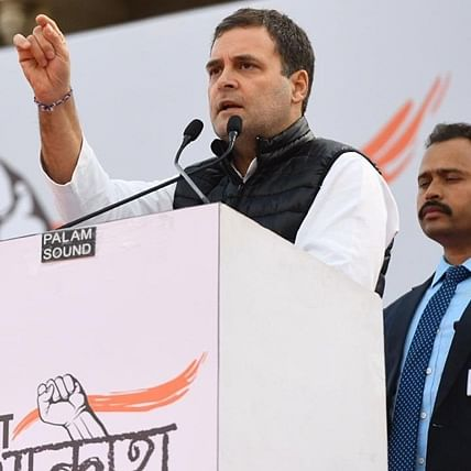 PM Modi has spoilt reputation of India in the world, says Rahul Gandhi at Yuva Aakrosh Rally in Jaipur
