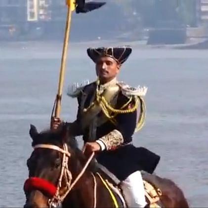 Sporting Manish Malhotra's sherwani, Mumbai Police's mounted unit makes a comeback after 88 years on Republic Day