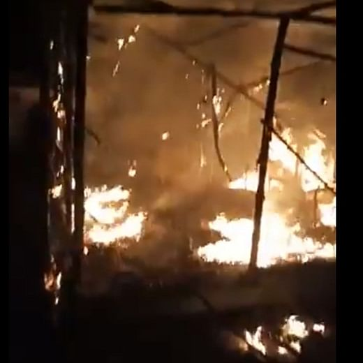 Watch: BJP office set ablaze in Asansol in West Bengal, party blames TMC workers