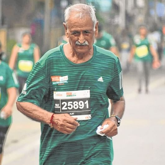 Mumbai Marathon 2020: 83 just a number for Ajit Singh