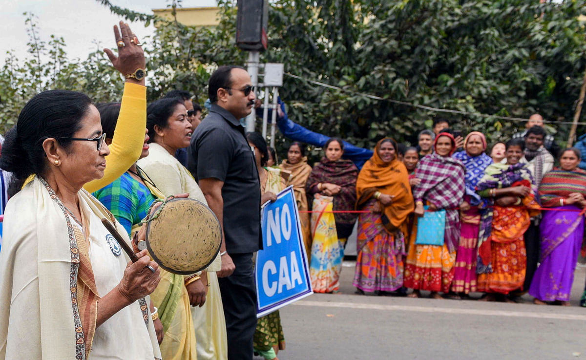 CM Mamata Banerjee to visit CAA-NRC protest after meeting PM Modi at Raj Bhavan