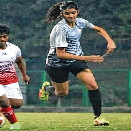 Feisty footballer at 14 all set to play starring role