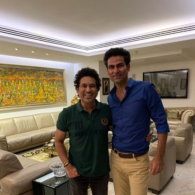 'My Sudama moment with Lord Krishna': Mohammad Kaif on meeting Sachin Tendulkar